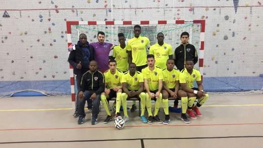 équipe pierrefitte futsal 2015