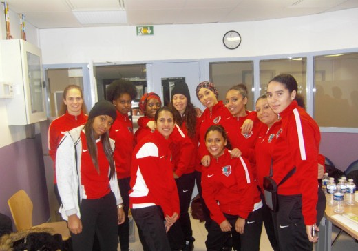 equipe féminine don du sang