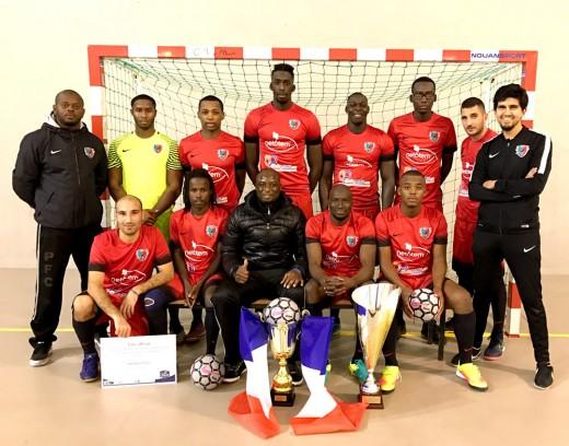 l'équipe futsal du Pierrefitte FC