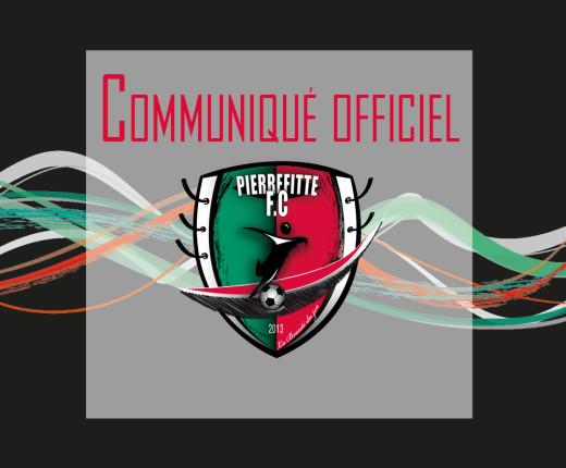 communique officiel PFC